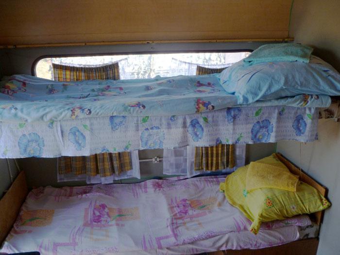 Кемпер на 4 спальных места