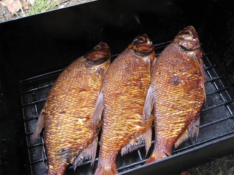 Обработка рыбы, копчение