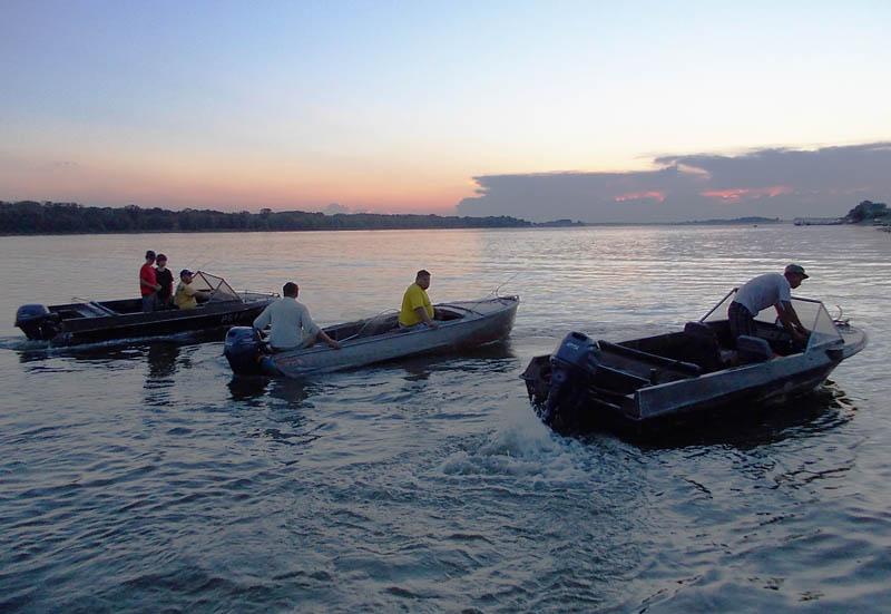 Лодки Казанка и Крым