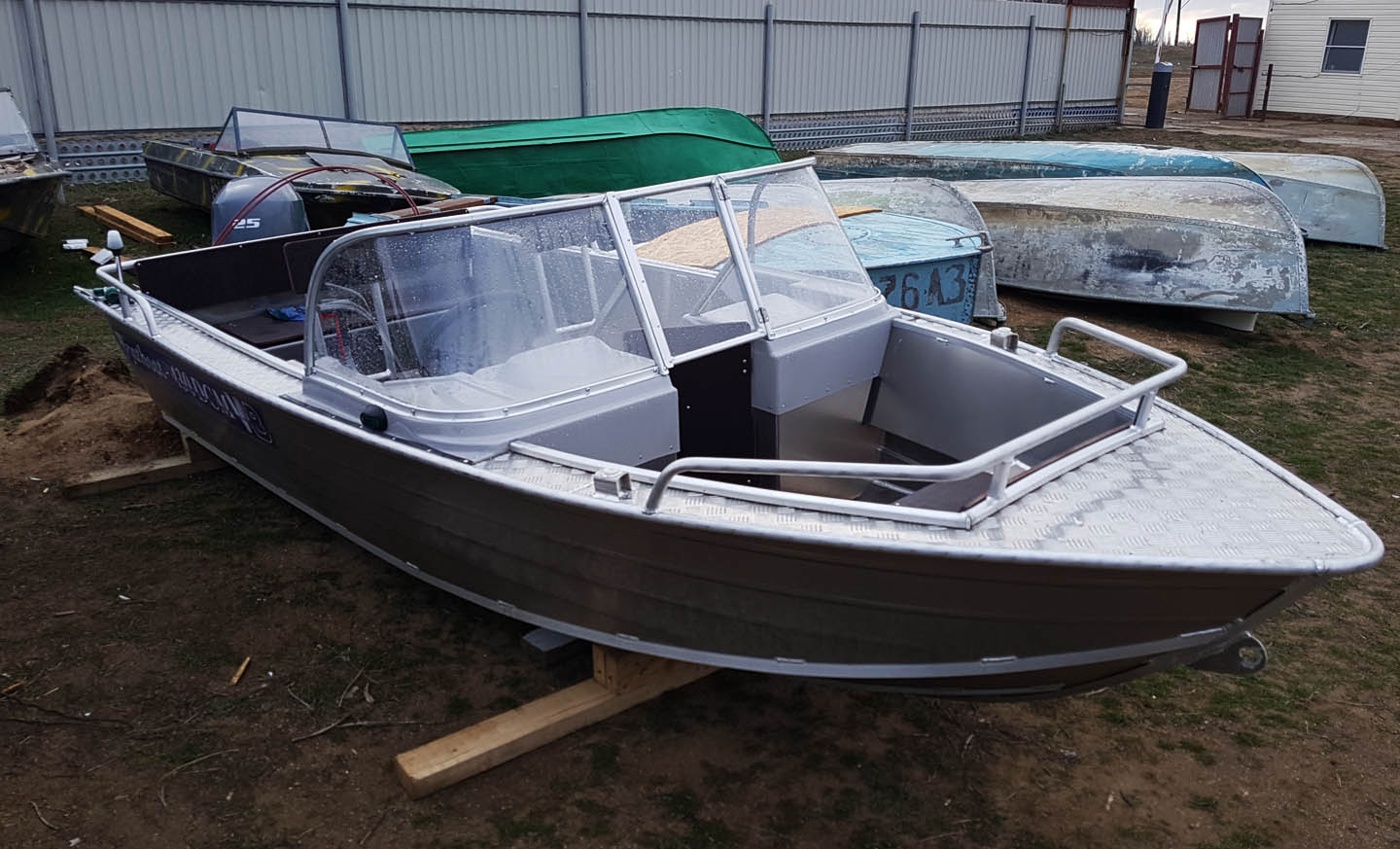 Лодки wyatboat 430